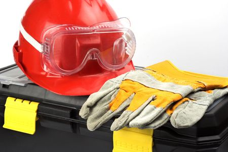 Safety gear kit close up Stock Photo - 3517120