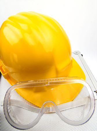 Safety gear kit close up Stock Photo - 3618047