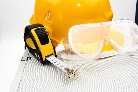 Safety gear kit close up Stock Photo - 3618059