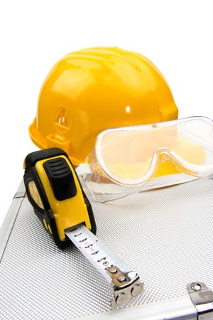 Safety gear kit close up Stock Photo - 3637392