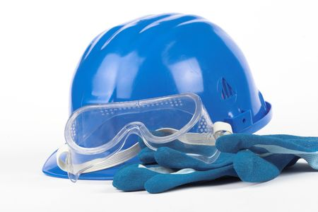 Safety gear kit close up Stock Photo - 3736367