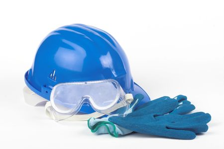 personal safety: Safety gear kit close up