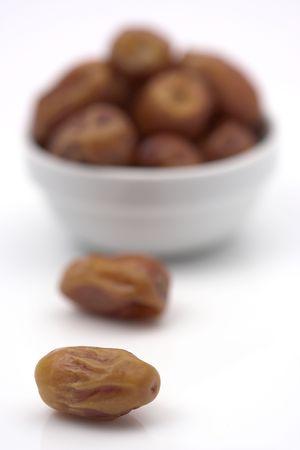date fruits close up,shallow dof Stock Photo - 3890528