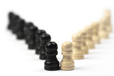 chellange: chess-man concept for diversity ,shallow dof