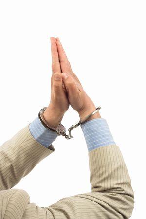 To pray for mercy-arrest Stock Photo - 6735087