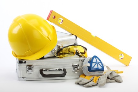 Safety gear kit close up Stock Photo - 8124865