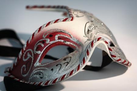 Carnival mask close up shallow dof photo