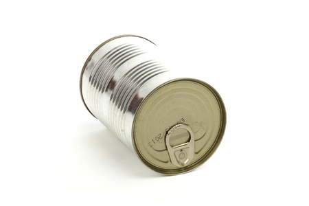 Tin can over white background  Stock Photo - 11272784