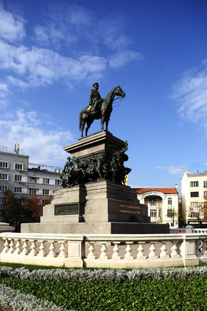 liberator: The Monument to the Tsar Liberator  is an equestrian monument in the centre of Sofia, the capital of Bulgaria