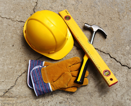 safety gear: Safety gear kit close up