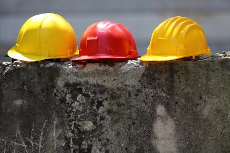 안전 장비 3 색 헬멧