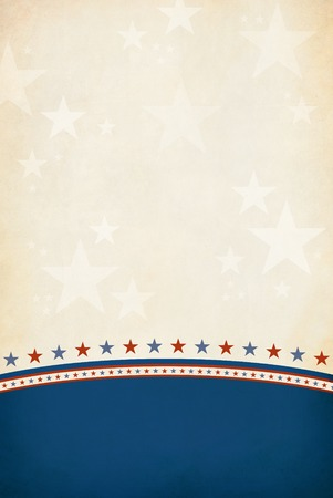 Patriotic Background Stock Photo - 24380793
