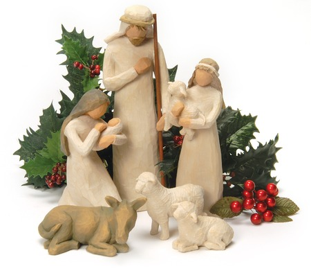 baby christmas: Nativity Scene