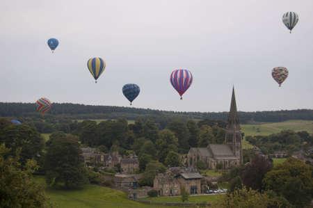 chatsworth: Balloons over Chatsworth