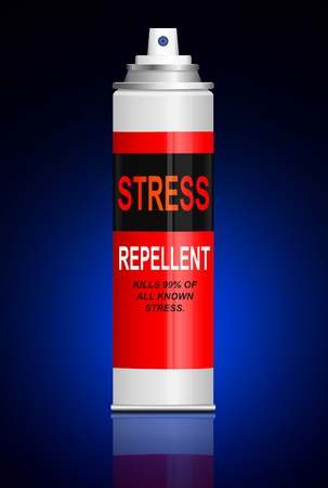 propellant: Illustration depicting a single aerosol spray can with the words  Stock Photo