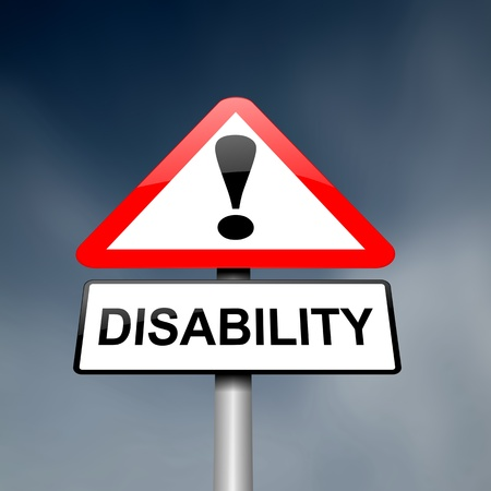 ability: Illustration depicting a red and white triangular warning sign with a