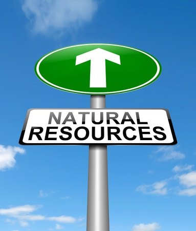 save planet: Illustration depicting a sign with a natural resources concept.