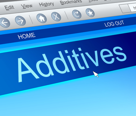 preservative: Illustration depicting a computer screen capture with an additives concept.