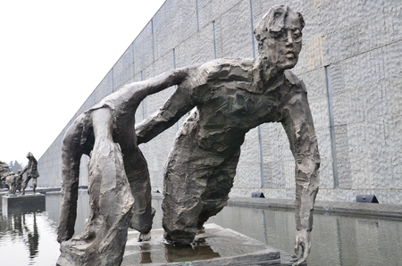 massacre: Sculptures at the Nanjing Massacre Memorial Hall Editorial