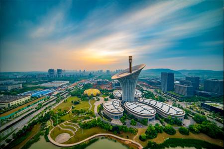 City building landscape Editorial