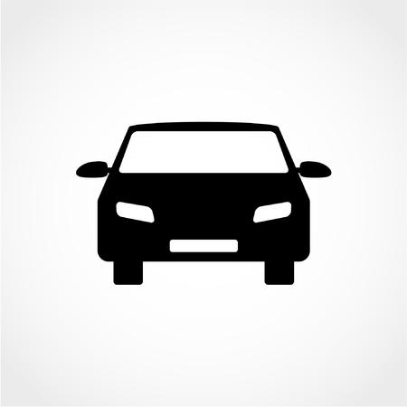 Car Icon Isolated on White Background 向量圖像