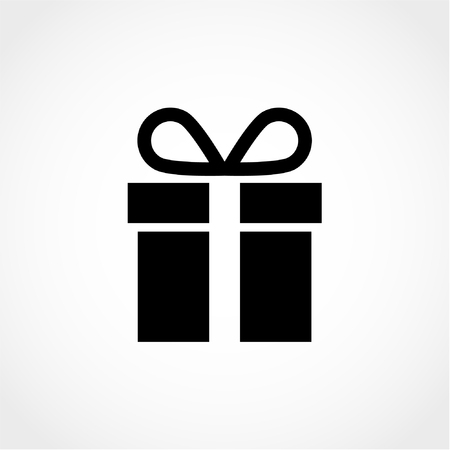 Gift Icon Isolated on White Background 向量圖像