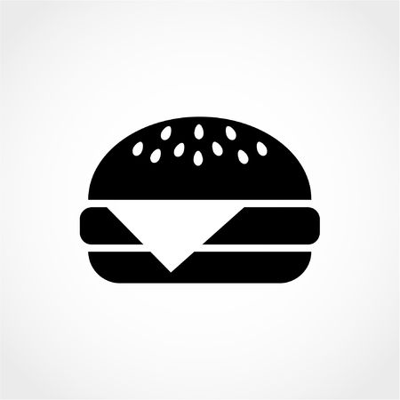 Hamburger Icon Isolated on White Background Stok Fotoğraf - 50994724