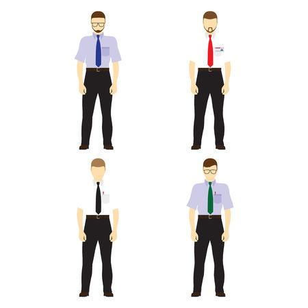 figura humana: Figuras masculinas avatares. Hombres de negocios de los avatares. Iconos, elementos de dise�o.