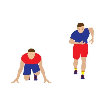 Runner. Sportsman. Track-and-field athletics. Run. Sport.