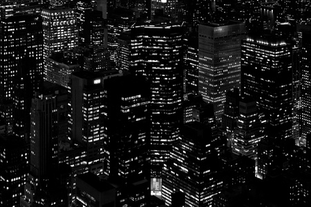especially the skyscrapers of Manhattan  photo