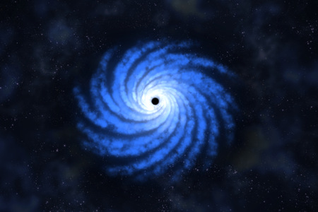 black hole: Black hole Stock Photo