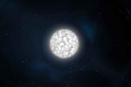white dwarf Stock Photo