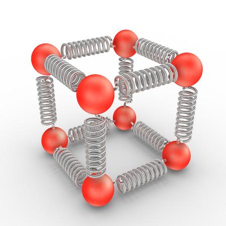 molecules bonding photo