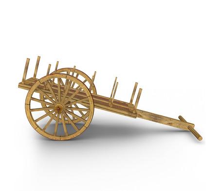 bullock animal: Bullock-cart