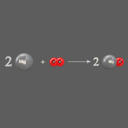 oxide: Magnesium oxide Stock Photo