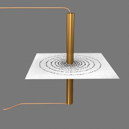 electromagnetism: Circular coil