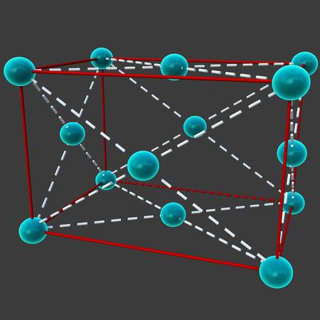 centered: End Centered unit cell