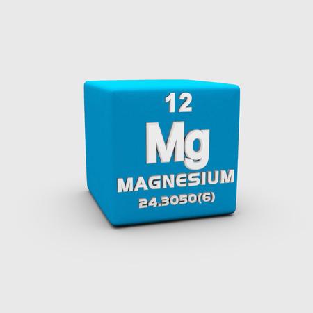 magnesium: Atomic Number Magnesium Stock Photo