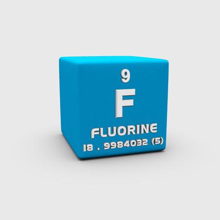 Atomic number fluorin photo