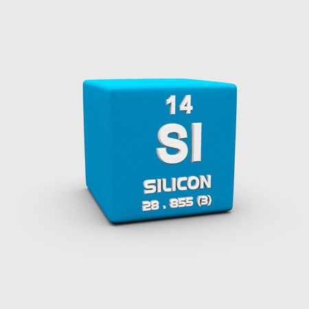 Atomic Number Silicon photo