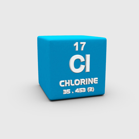 Atomic Number Chlorine photo