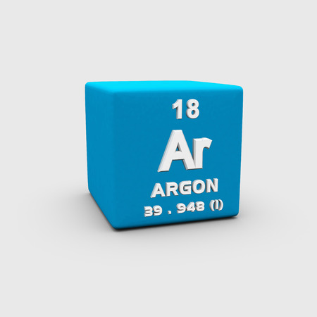 Atomic Number Argon photo