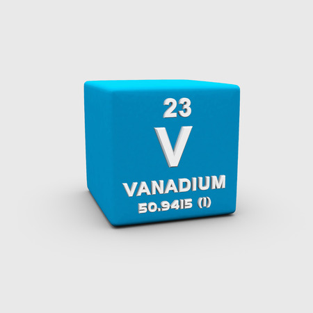 Atomic Number Vanadium photo