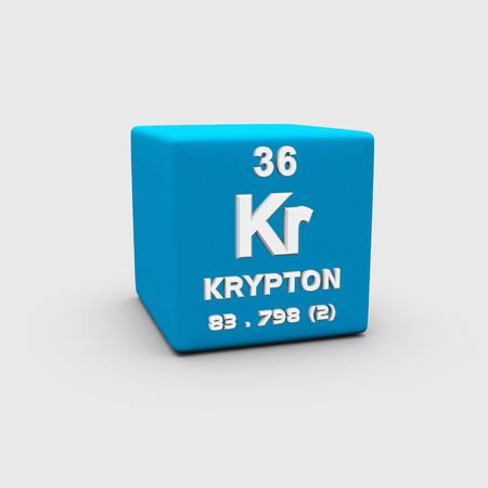 Atomic Number Krypton