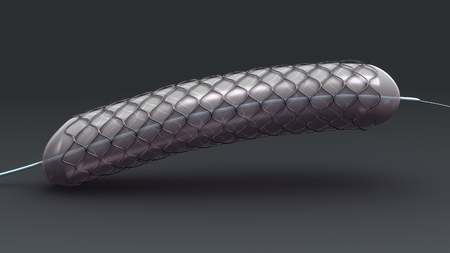 Stent front Stock Photo