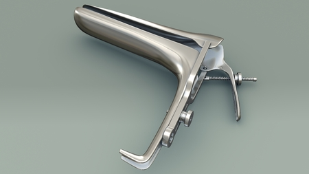 Speculum perspective Stock Photo - 88893442