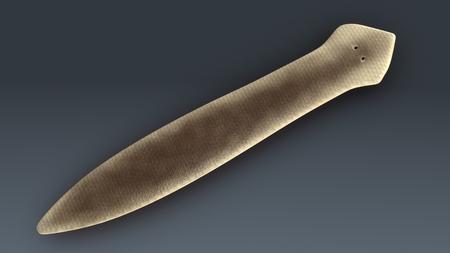 Dugesia(planarian) 視点 写真素材