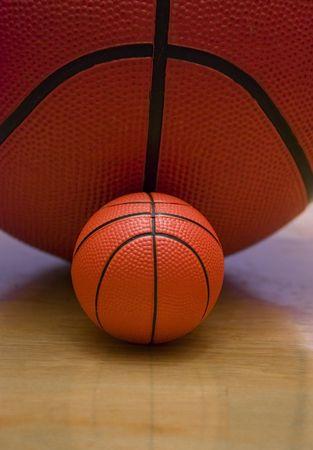Junior basketball,Regular size and miniature basketballs