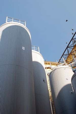 Modern Brewery plant Stock Photo - 3771860