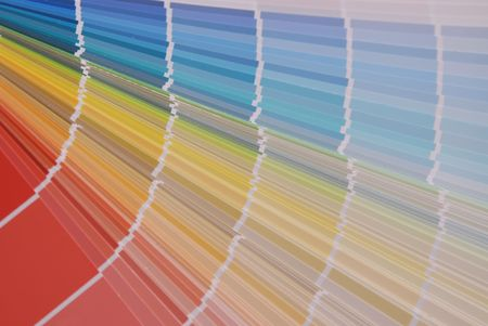 uncoated: Color guide Stock Photo